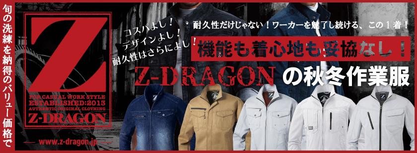 スタイリッシュ&カジュアル!Z-DRAGON特集